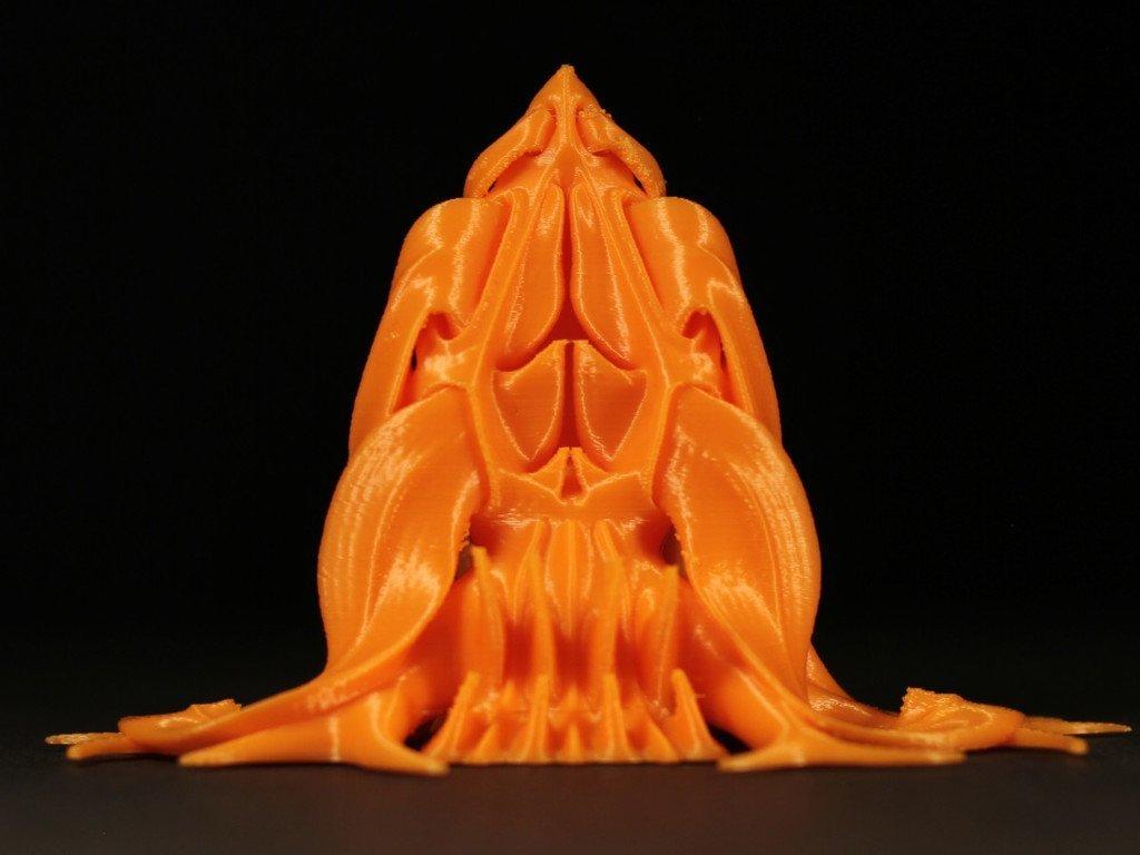 "10e5847ecf20a6a2c4a2d36db680e0d6_display_large.jpg Download free STL file Tabletop plant: Alien Vegetation 06 ""Welwitschia Ghost Plant"" • 3D printer model, GrimGreeble"