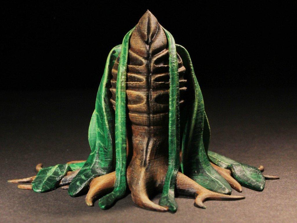"""4e70b6a58dfefb474a1d6cddd3ef9a4e_display_large.jpg Télécharger fichier STL gratuit Installation de table : Végétation exotique 06 """"Welwitschia Ghost Plant"""" • Design à imprimer en 3D, GrimGreeble"""