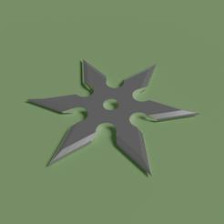 untitled.png Download STL file Ninja star • 3D print template, Albano