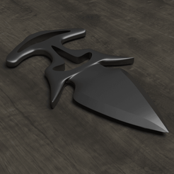 Download 3D printing templates Shadow Dagger CSGO, Albano