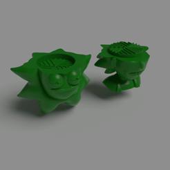 Descargar modelo 3D Grinder Rick Sanchez, Albano
