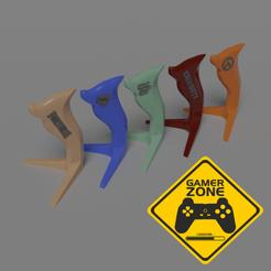 Soportes.png Télécharger fichier STL Overwatch-GTA-Call of Duty-Fortnite-Rocket League • Modèle pour impression 3D, Albano