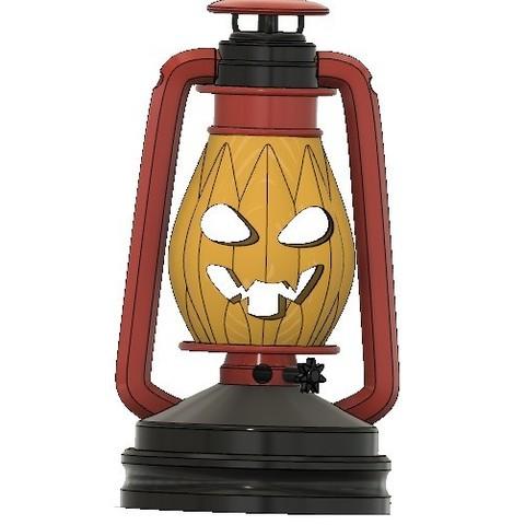 1fe40ad6708dcbc826bbb9a1f7d18621_display_large.jpg Télécharger fichier STL gratuit Lampe au kérosène version Halloween • Modèle à imprimer en 3D, poblocki1982