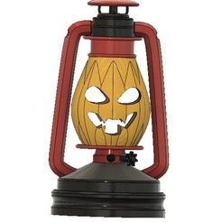 Free STL files Kerosene Lamp Halloween version, poblocki1982