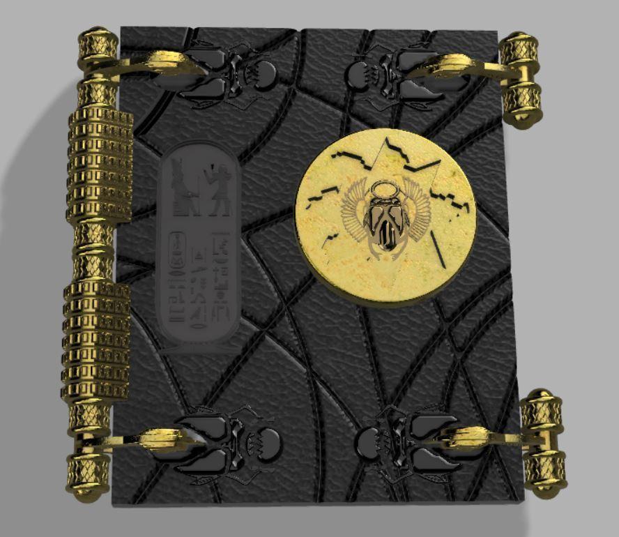Capture2.JPG Télécharger fichier STL gratuit Livre des morts (La momie) • Plan pour impression 3D, poblocki1982