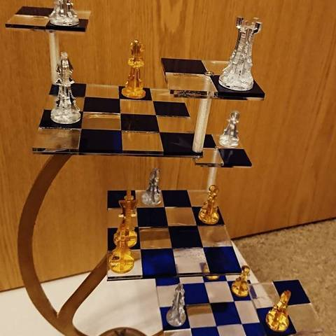 a3ed473434041034d2f1fad0fd9fa1dd_display_large.jpg Download free STL file Three-dimensional chess (Laser cut) • 3D printer design, poblocki1982