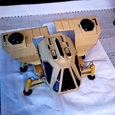 Download free 3D model Dune Ornithopter, poblocki1982