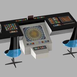 Capture1.JPG Télécharger fichier STL gratuit Pont TOS de Star Trek • Modèle pour impression 3D, poblocki1982