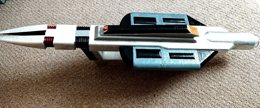 16ef1183cbe412c46ae6e963fdefc126_display_large.JPG Download free STL file Star Trek Voyager Compression Rifle • 3D print design, poblocki1982