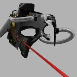 Capture1.JPG Download free STL file Locutus mask • 3D printer template, poblocki1982