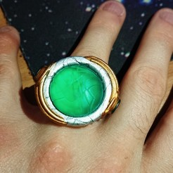 Free STL file Goa'uld ring (resin), poblocki1982