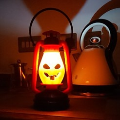Download free 3D printer designs Kerosene Lamp Halloween version, poblocki1982