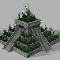 Capture.JPG Télécharger fichier STL gratuit Pot de plante de temple aztèque • Design pour imprimante 3D, poblocki1982