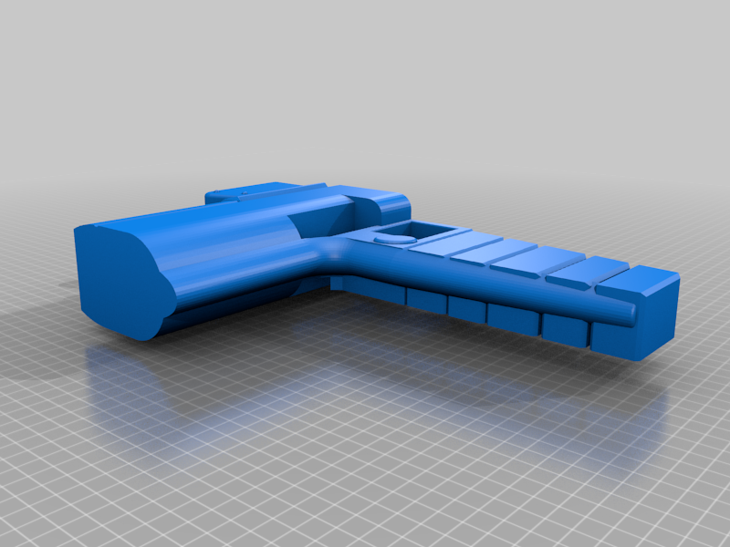 rifle_part_3.png Download free STL file Photon Rifle (The Flash) • 3D print template, poblocki1982