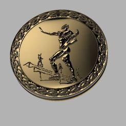 Télécharger STL gratuit Médaille d'honneur du capitaine Kirk, poblocki1982