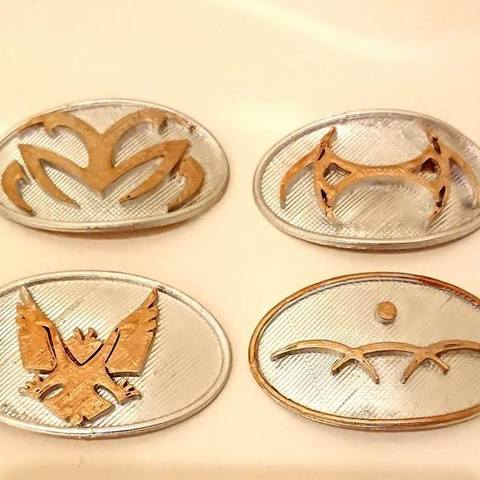 Download free 3D printer designs Jaffa symbols (Stargate), poblocki1982
