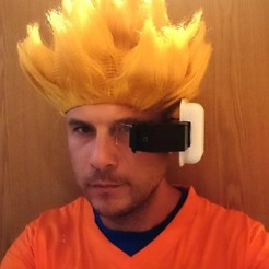 Download free 3D print files DBZ Scouter with working screen, poblocki1982
