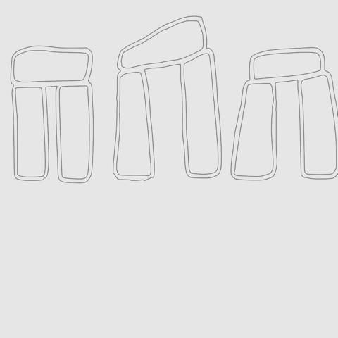 83f1ec4ef4f664f300ee4d8f81bf7fea_display_large.jpg Download free STL file Stonehenge cookie cutter • 3D printer model, poblocki1982