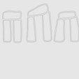 Download free 3D printer designs Stonehenge cookie cutter, poblocki1982