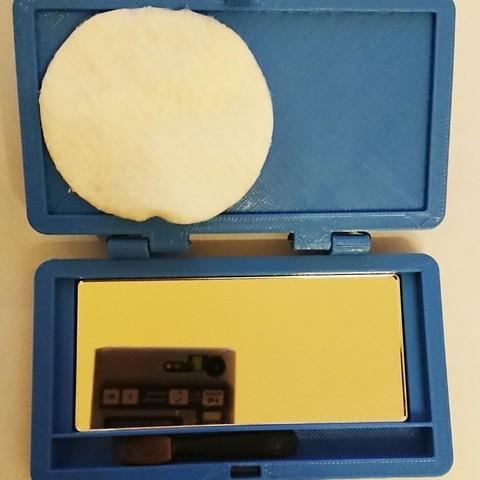 Free STL Pocket mirror, poblocki1982