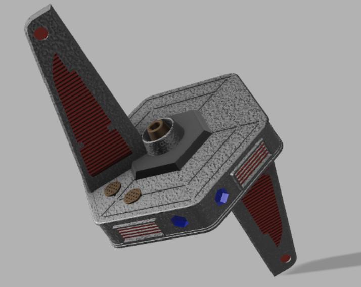 Capture2.PNG Download free STL file Kataan Probe • 3D printable design, poblocki1982