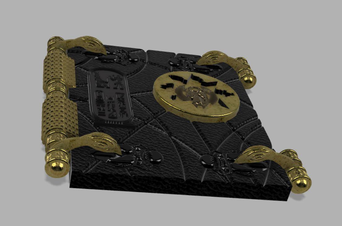 Capture3.JPG Télécharger fichier STL gratuit Livre des morts (La momie) • Plan pour impression 3D, poblocki1982