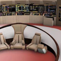 Capture2.JPG Télécharger fichier STL gratuit Pont TNG de Star Trek • Modèle à imprimer en 3D, poblocki1982