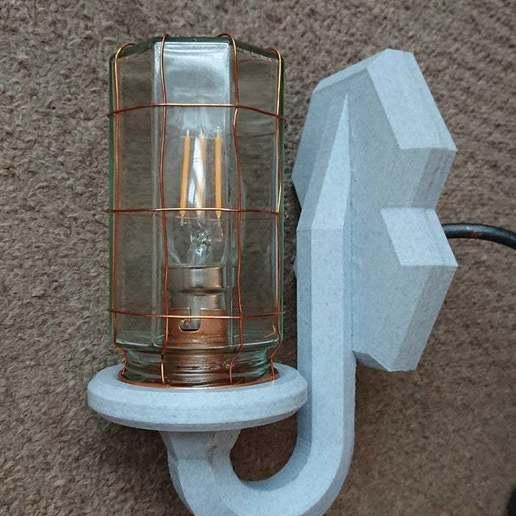 _20200603_165150.JPG Télécharger fichier STL gratuit Lampe industrielle à bocal • Design à imprimer en 3D, poblocki1982