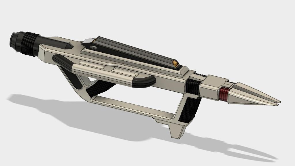 733bfc80647a434102c1a0adf8fecfd1_display_large.jpg Download free STL file Star Trek Voyager Compression Rifle • 3D print design, poblocki1982