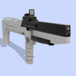Capture2.JPG Download free STL file Photon Rifle (The Flash) • 3D print template, poblocki1982