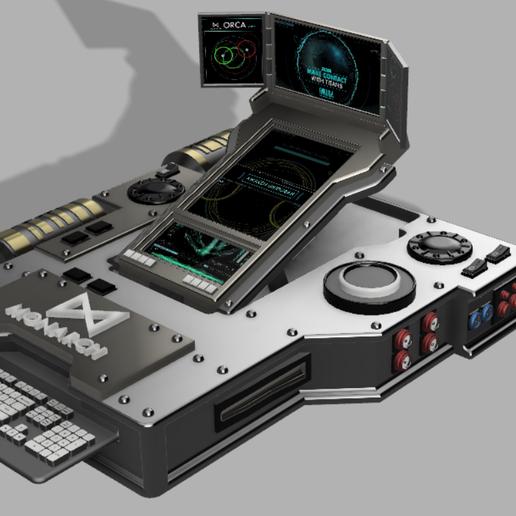 Capture1.PNG Download free STL file ORCA communicator (Godzilla) • 3D printing object, poblocki1982