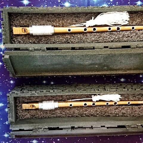 Download free STL Ressikan Flute box, poblocki1982