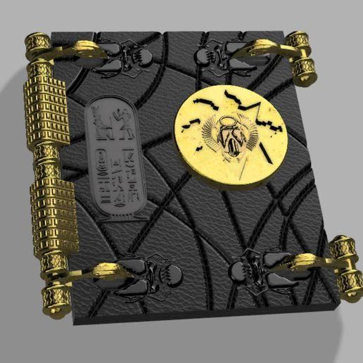 Capture.JPG Télécharger fichier STL gratuit Livre des morts (La momie) • Plan pour impression 3D, poblocki1982