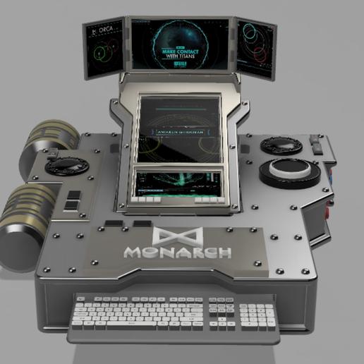 Capture3.PNG Download free STL file ORCA communicator (Godzilla) • 3D printing object, poblocki1982