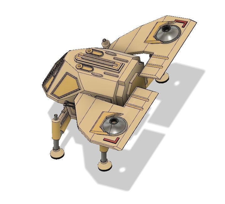 8a1b26e4735b8a7007e71918e15eceec_display_large.JPG Download free STL file Dune Ornithopter • 3D print template, poblocki1982