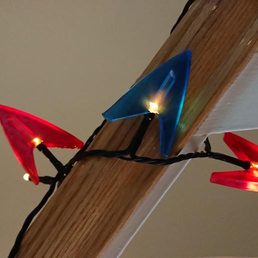 Télécharger fichier STL gratuit Star Trek lumières de Noël Fairy Trek • Objet pour imprimante 3D, poblocki1982