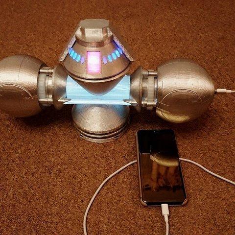 Descargar modelos 3D gratis Generador de Naquadah versión USB-LED, poblocki1982