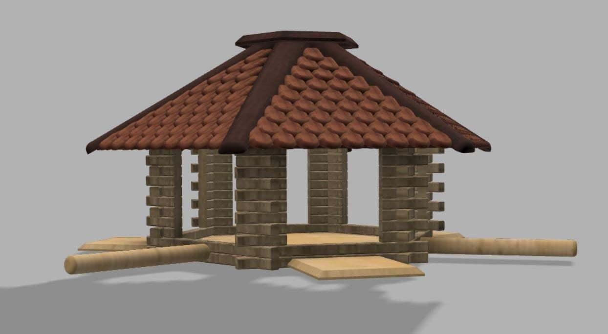 Capture1.JPG Télécharger fichier STL gratuit Maison des oiseaux • Modèle pour imprimante 3D, poblocki1982
