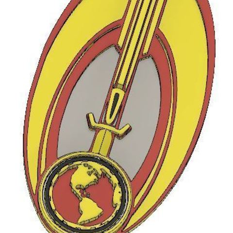 Download free STL file Terran Empire Bajor Badge, poblocki1982