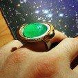 Download free STL Goa'uld ring (resin), poblocki1982