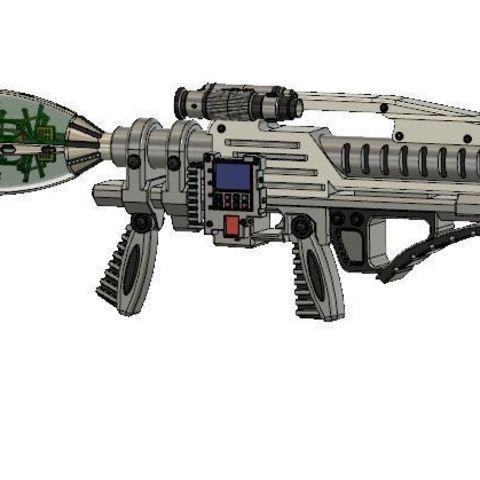 Download free 3D printing models GI Joe Nanomites launcher, poblocki1982