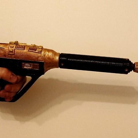 Free 3D printer designs Breen Pistol, poblocki1982