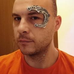 Imprimir en 3D gratis 7 de 9 Implante ocular de Borg, poblocki1982