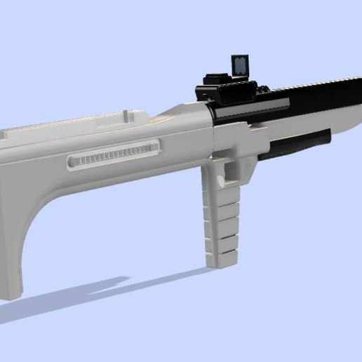 Capture3.JPG Download free STL file Photon Rifle (The Flash) • 3D print template, poblocki1982