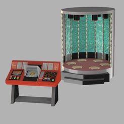 Capture.JPG Télécharger fichier STL gratuit Salle de téléportation du TOS Star Trek • Modèle pour imprimante 3D, poblocki1982