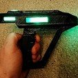 Download free STL files Romulan Disruptor LED version, poblocki1982