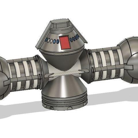 Télécharger plan imprimante 3D gatuit Générateur de naquadah, poblocki1982