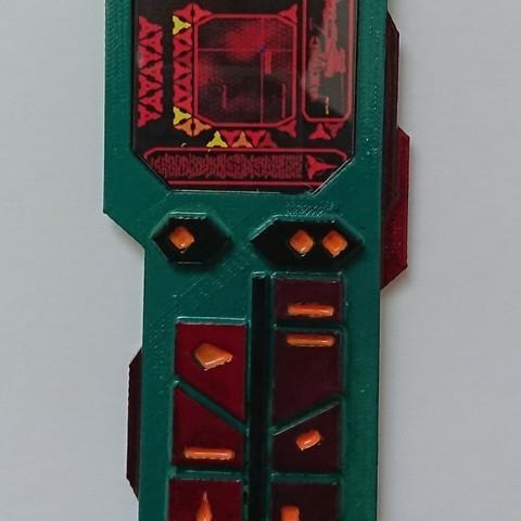 0b77f889a273f237bca6a8ccc4a94a75_display_large.JPG Download free STL file Klingon PADD • 3D print object, poblocki1982