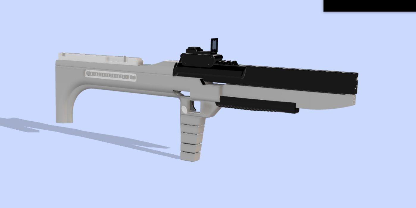 Capture.JPG Download free STL file Photon Rifle (The Flash) • 3D print template, poblocki1982