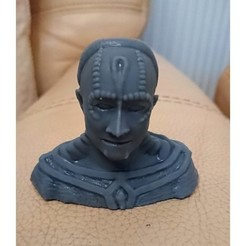 card.JPG Download free STL file Cardassian bust • 3D print object, poblocki1982